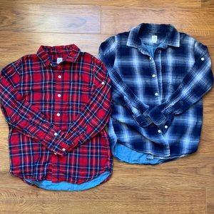 Gap kids size Large 10 boys long sleeve shirt top